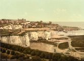 Broadstairs from the Cliffs - Glass Worktop Saver