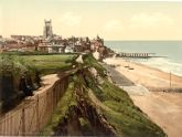 Cromer from the East Cliff, Norfolk - Glass Worktop Saver